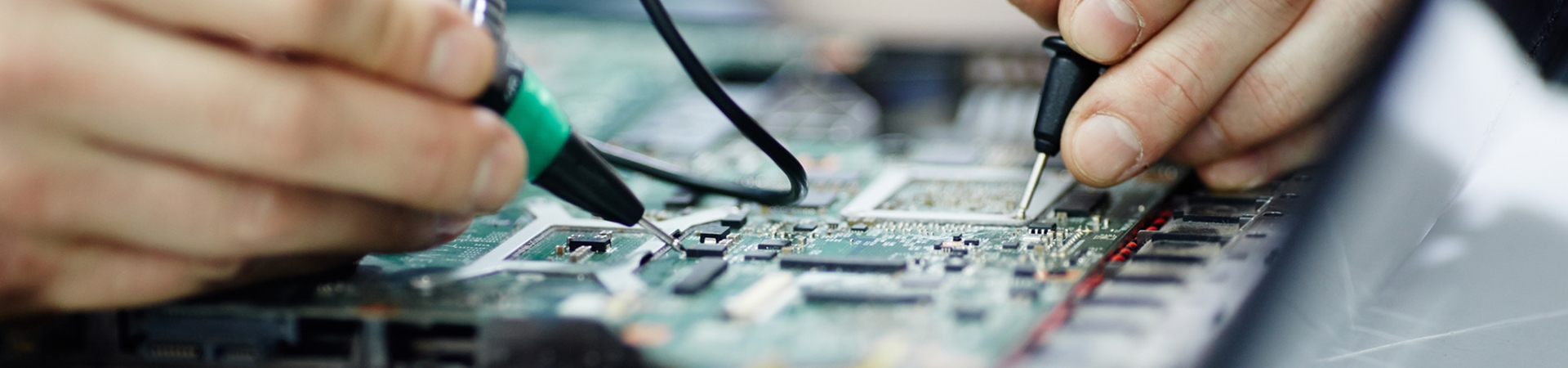 Testing Circuit Board with Multimeter